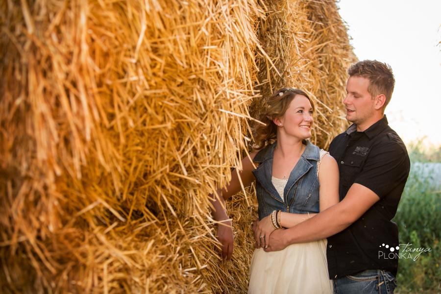 Lethbridge dairy farm engagement session