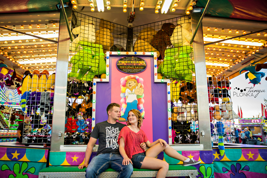 Lethbridge fair engagement photos