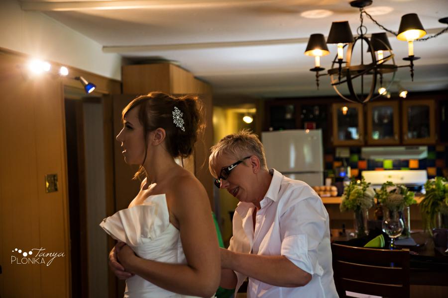 Shawn & Jori, Castle Mountain summer wedding photography