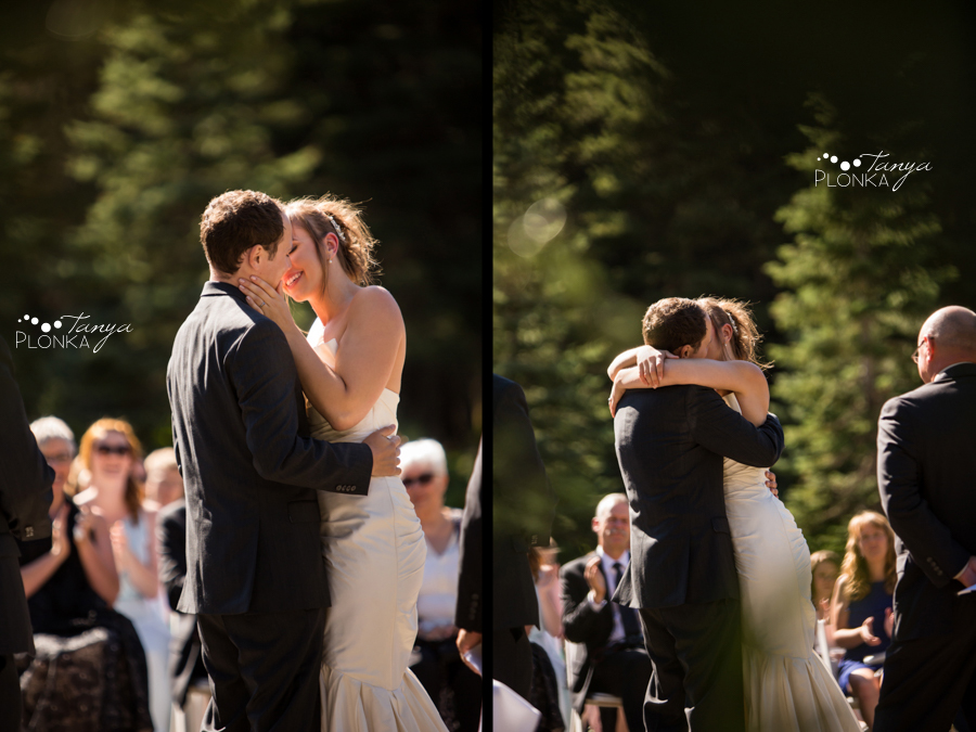 Shawn & Jori, Castle Mountain outdoor wedding ceremony photos