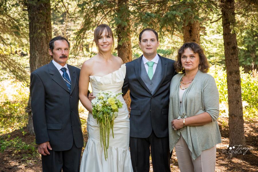 Shawn & Jori, Castle Mountain wedding photography