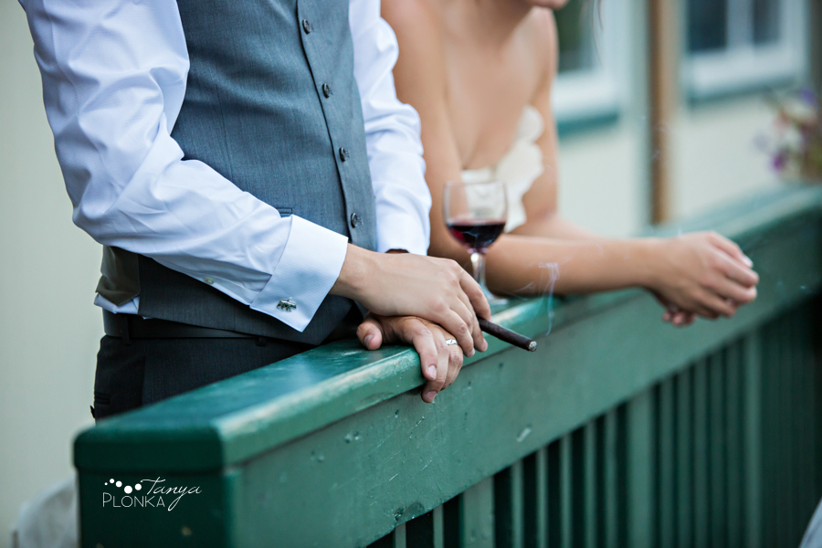 Shawn & Jori, Castle Mountain Resort wedding reception