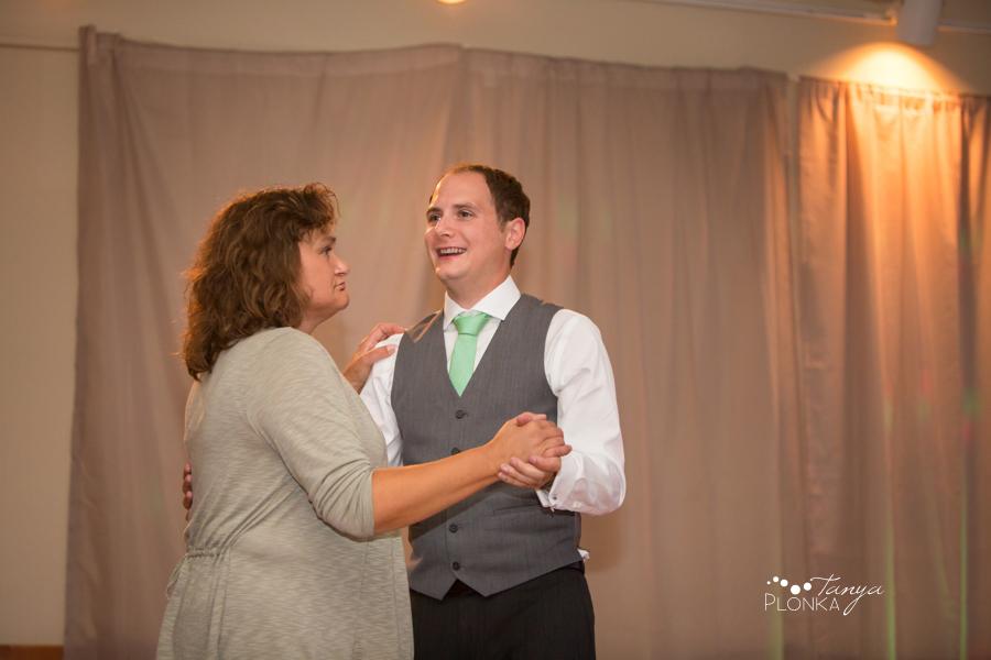 Shawn & Jori, Castle Mountain Resort wedding reception