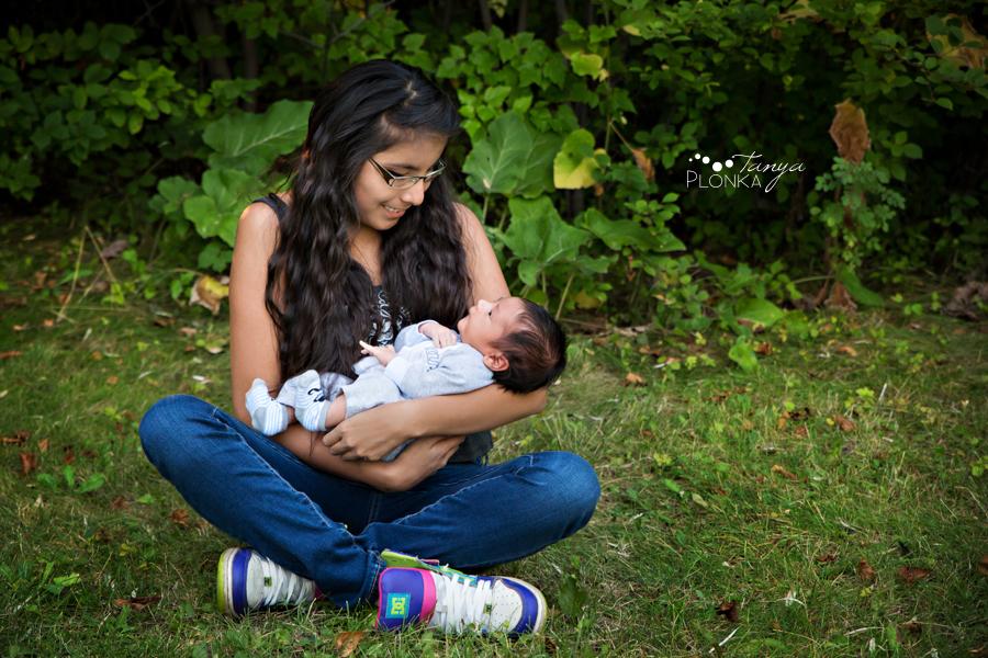 West Lethbridge outdoor newborn session