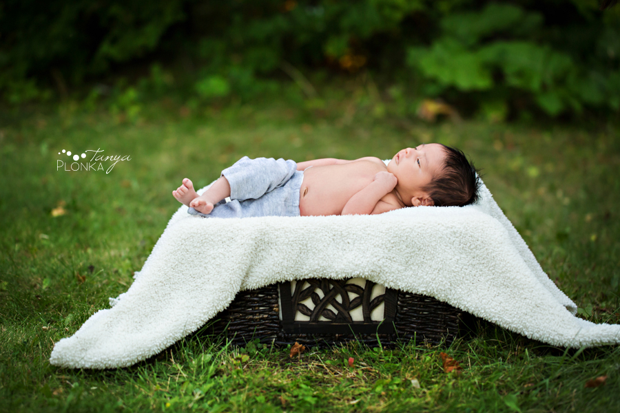 West Lethbridge natural newborn session