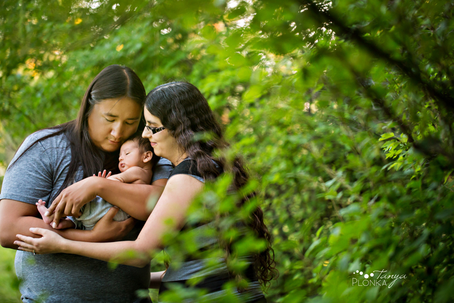 West Lethbridge outdoor newborn session