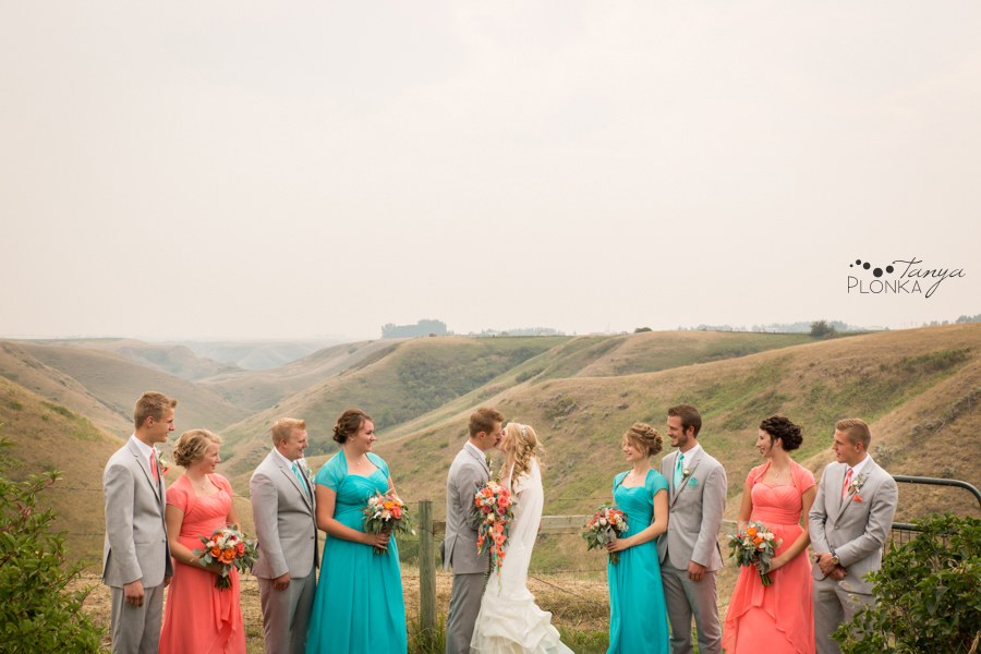 Jeremy & Emily, Picture Butte country-inspired wedding photos