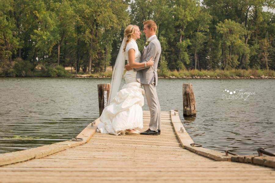 Jeremy & Emily, Park Lake Alberta country wedding photos