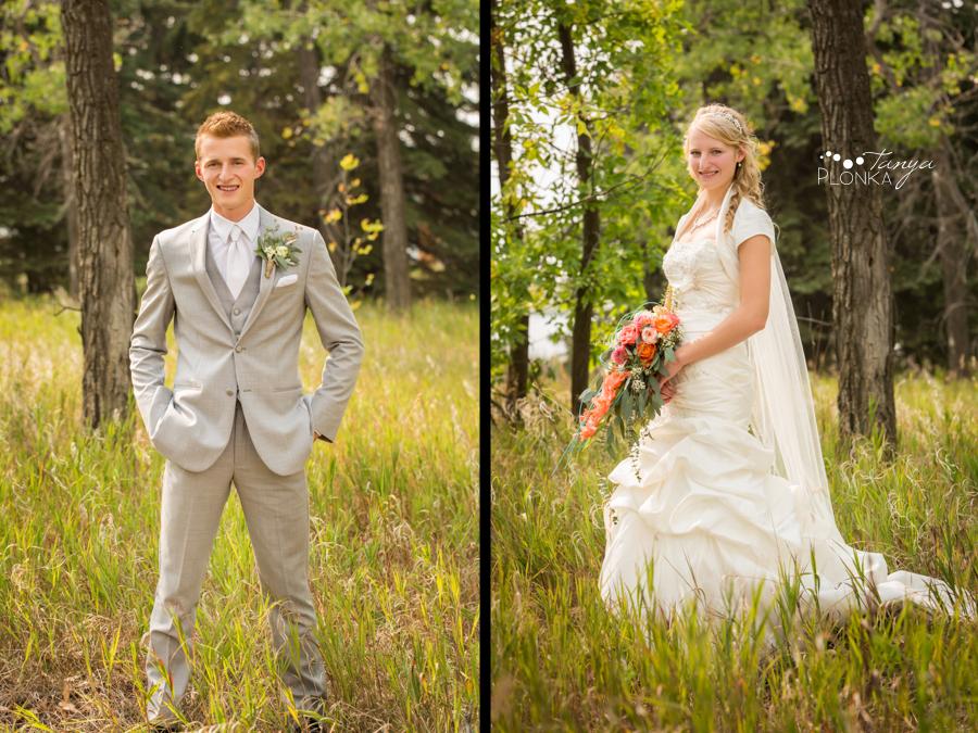 Jeremy & Emily, Park Lake Alberta country wedding photography