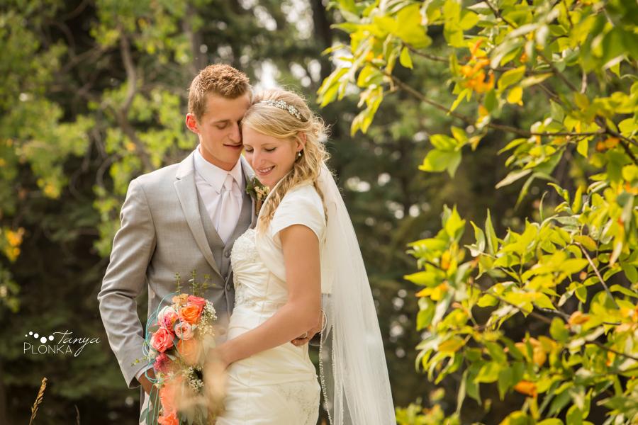 Jeremy & Emily, Park Lake Alberta country wedding