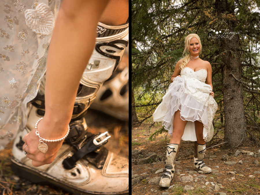 Freddie & Stef, Crowsnest Pass outdoor camp wedding