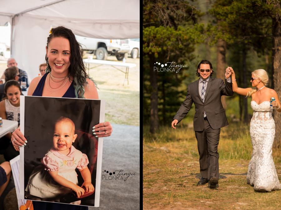 Freddie & Stef, Crowsnest Pass outdoor wedding photos