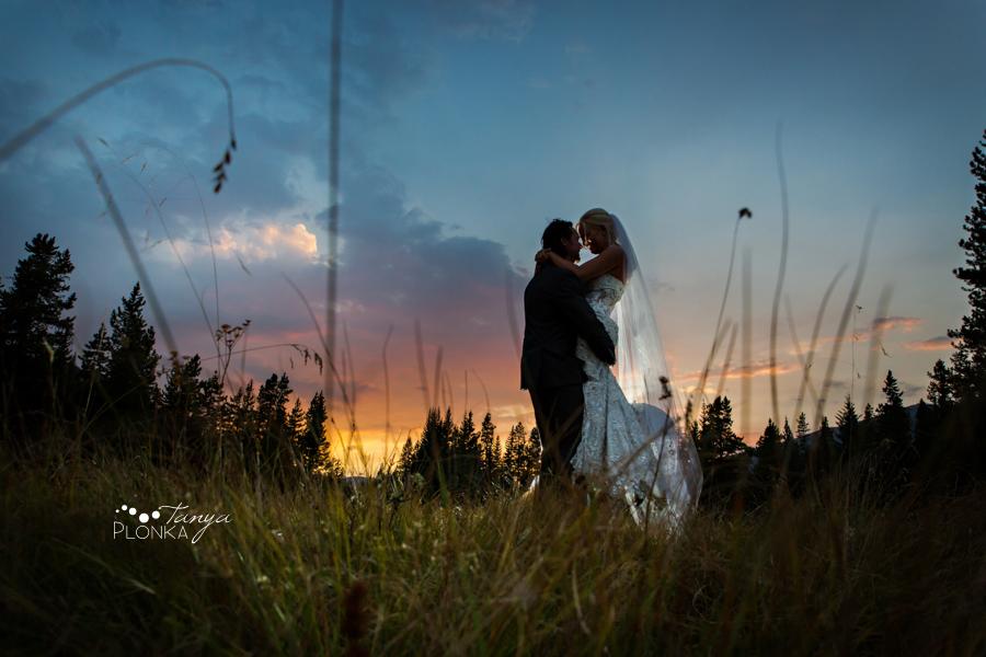 Freddie & Stef, Racehorse Creek twilight wedding photos