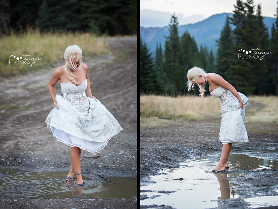 Freddie & Stef, Racehorse Creek outdoor campground wedding photography