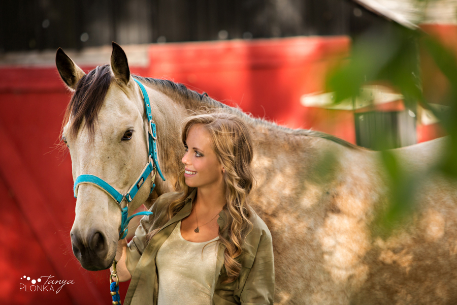 Taber country equestrian portrait session