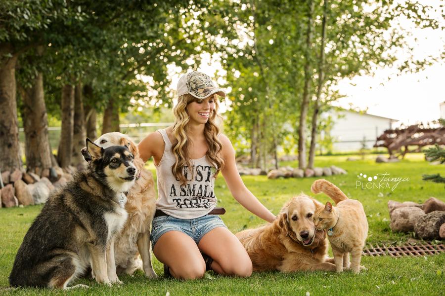 Barnwell country dog portrait photos