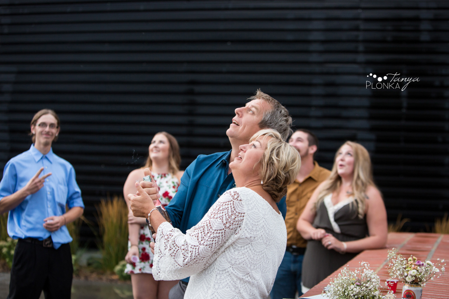 Brian & Margot, outdoor Galt Museum wedding photos