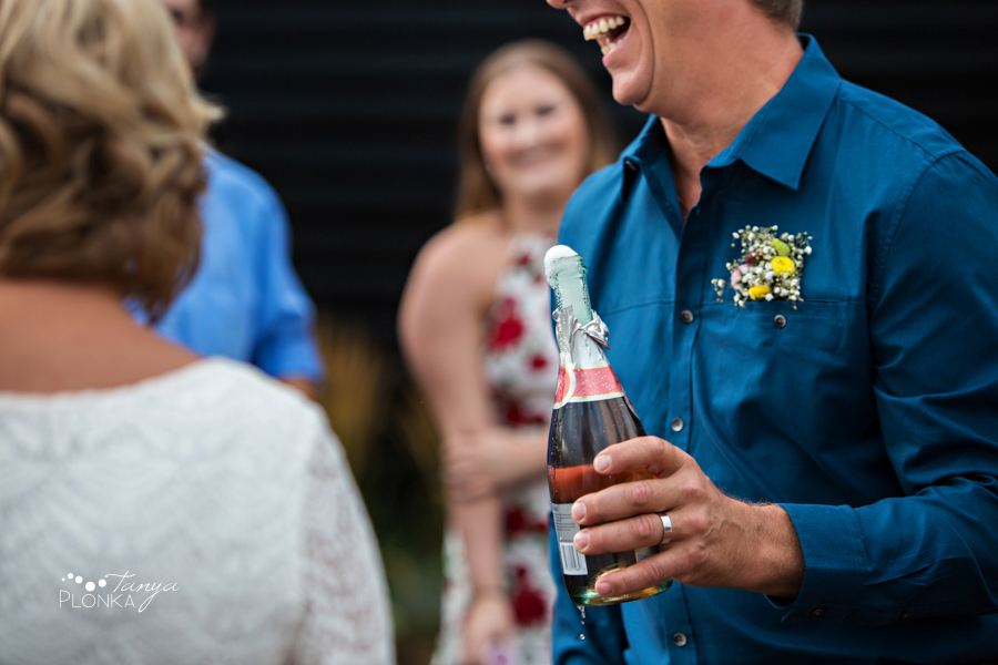Brian & Margot, outdoor Galt Museum wedding photos