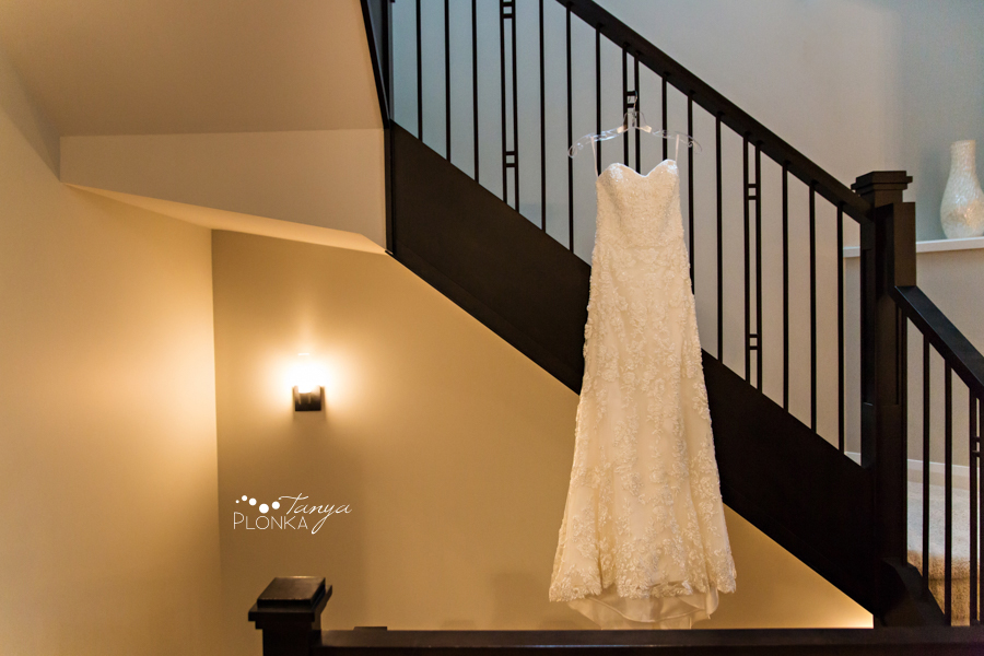 Evan & Emily, elegant Calgary indoor Catholic wedding photos