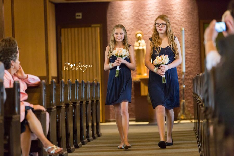 Evan & Emily, elegant Calgary indoor Catholic wedding photos