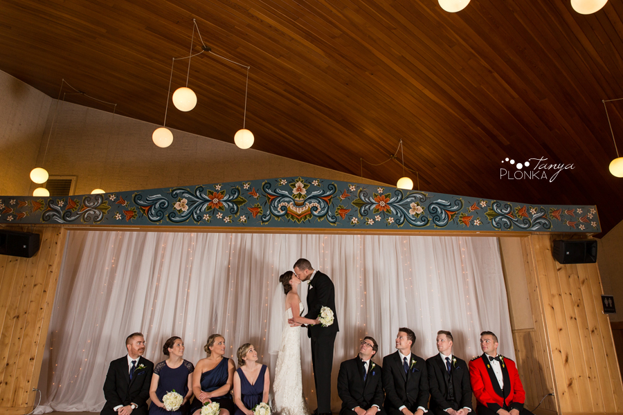 Evan & Emily, elegant Calgary indoor wedding photos