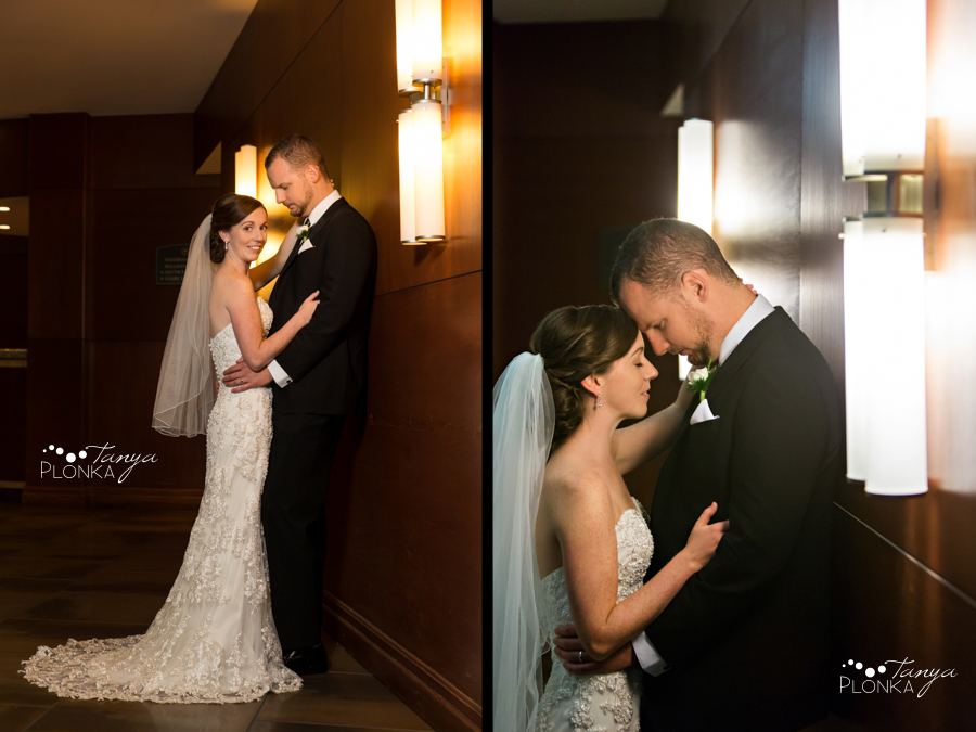 Evan & Emily, elegant downtown Calgary Sheraton wedding photos