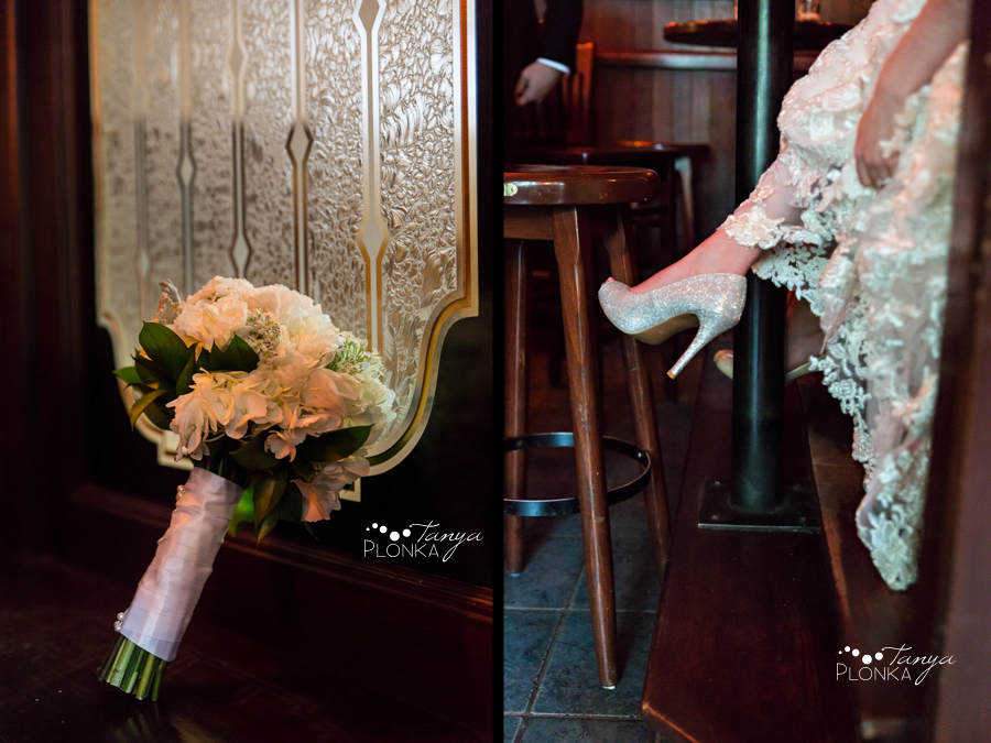 Evan & Emily, fun Calgary Irish pub wedding photos