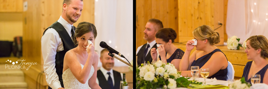 Evan & Emily, elegant Calgary indoor Catholic wedding photography