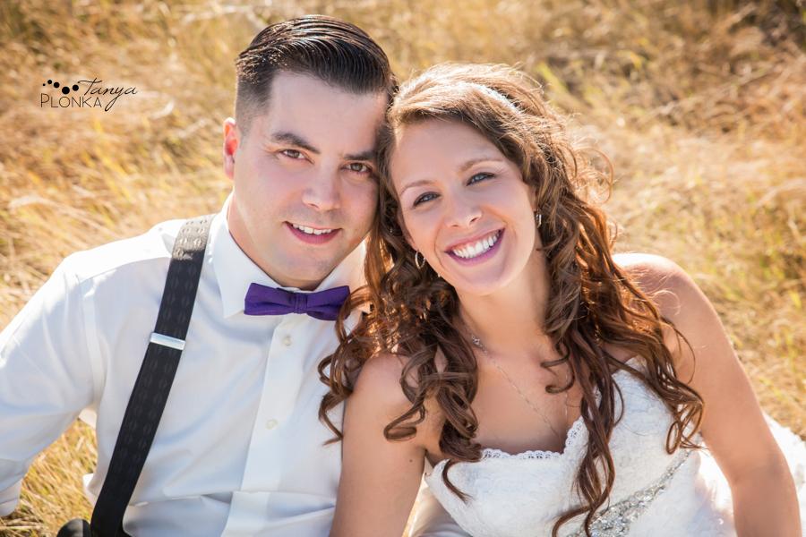 Samantha & Chad, intimate Milk River wedding