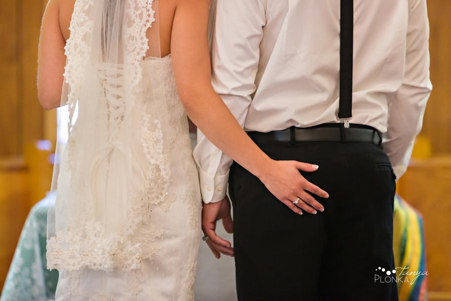 Samantha & Chad, intimate Milk River wedding photos