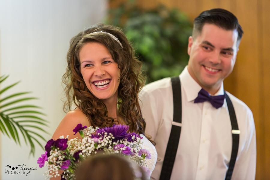 Samantha & Chad, intimate Southern Alberta wedding photography