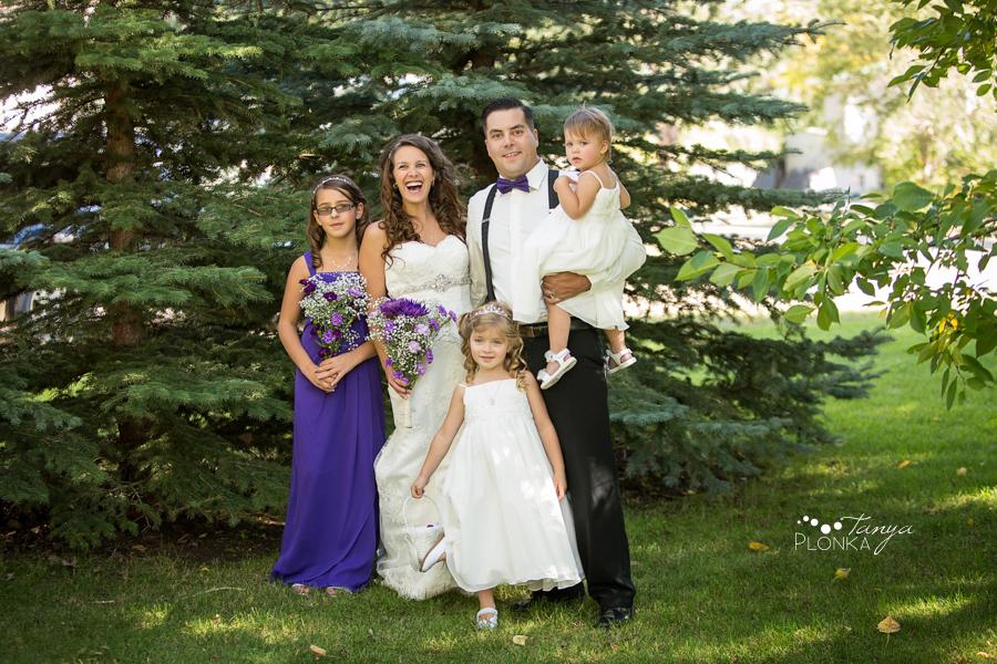 Samantha & Chad, intimate Milk River wedding photography