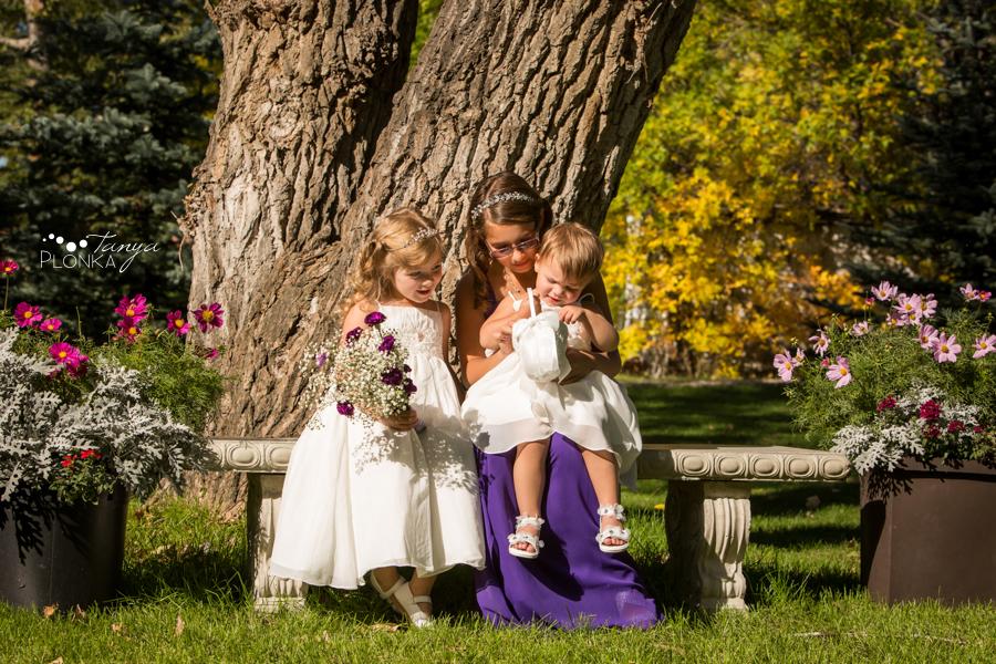 Samantha & Chad, intimate Southern Alberta wedding