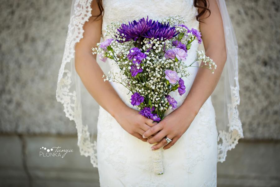 Samantha & Chad, intimate Southern Alberta wedding photos