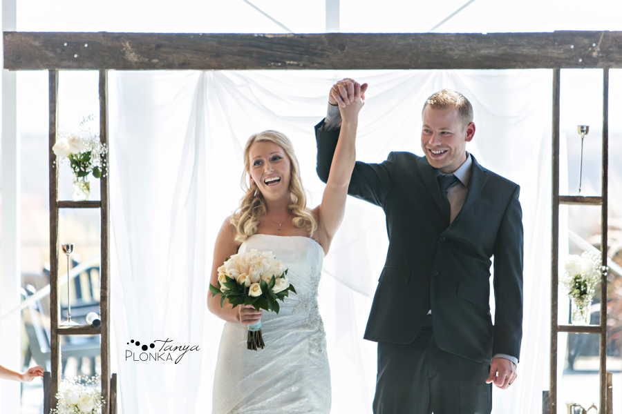 Lasca & Greg, Lethbridge autumn Galt Museum ceremony wedding photography