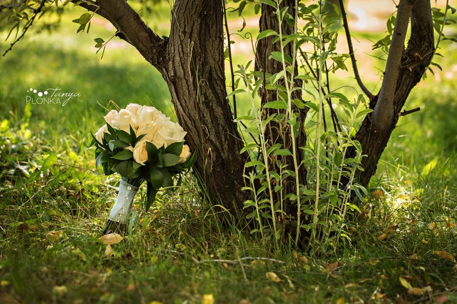 Lasca & Greg, Lethbridge autumn Galt Museum wedding photography