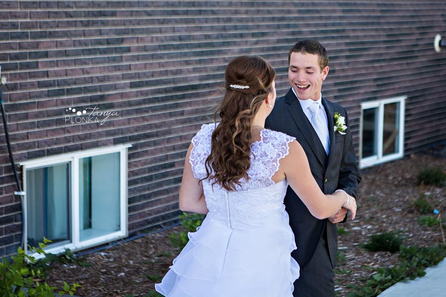 William & Becky, Nobleford wedding photography
