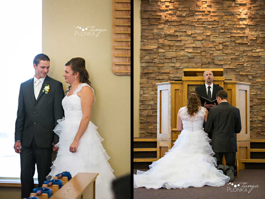 William & Becky, Monarch wedding ceremony photography