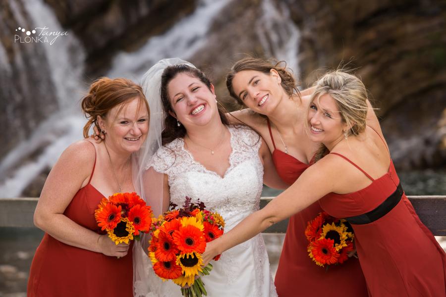 Kevin & Ashley, autumn Waterton Lakes wedding photography