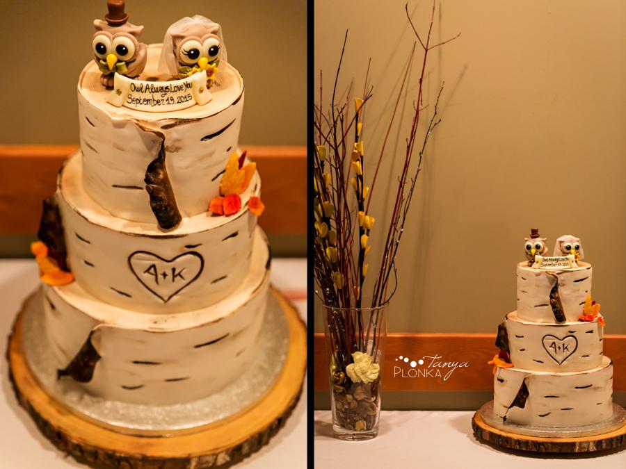 Kevin & Ashley, autumn Waterton wedding reception
