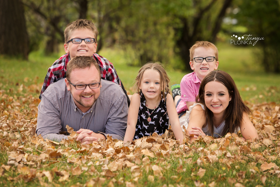 west Lethbridge fall family photography