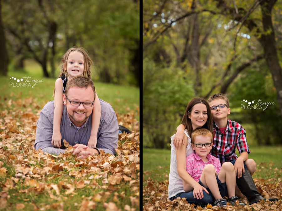 west Lethbridge fall family photos