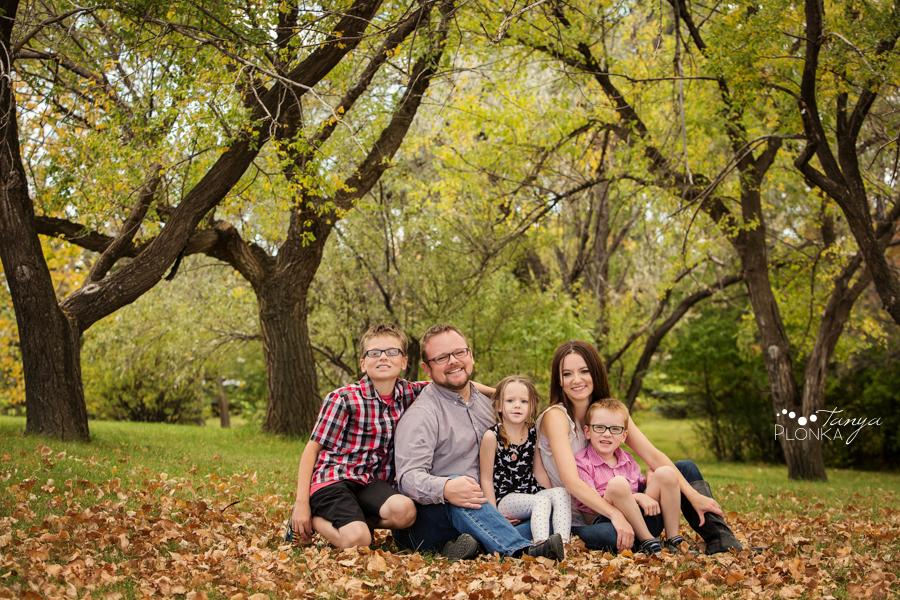 west Lethbridge autumn family photos