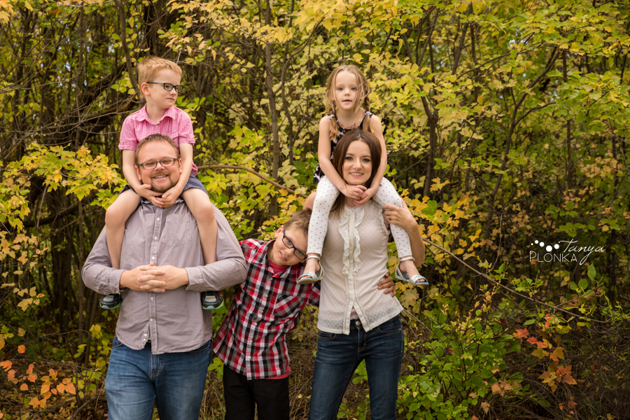 west Lethbridge autumn family photography