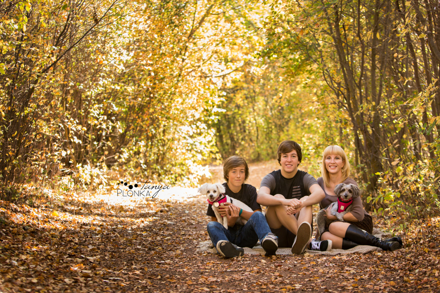 Pavan Park fall family photos