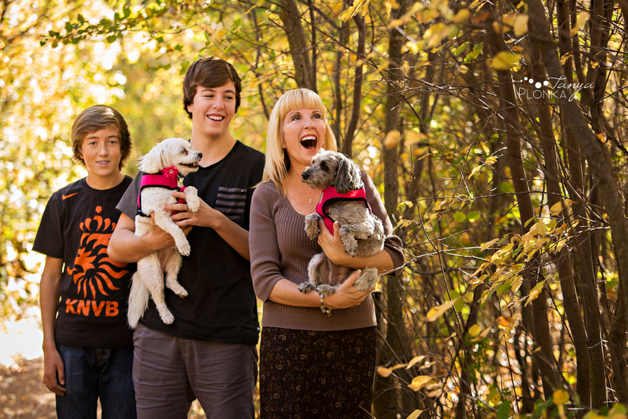 Pavan Park autumn family photos