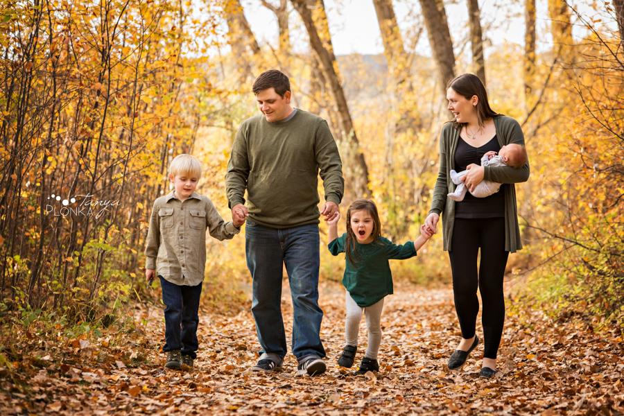 Pavan Park newborn family photos