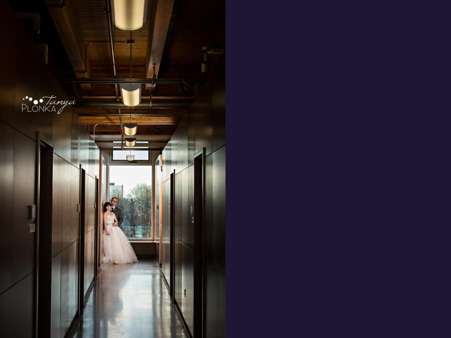 Andrea & Graham, Lethbridge CASA indoor wedding photos