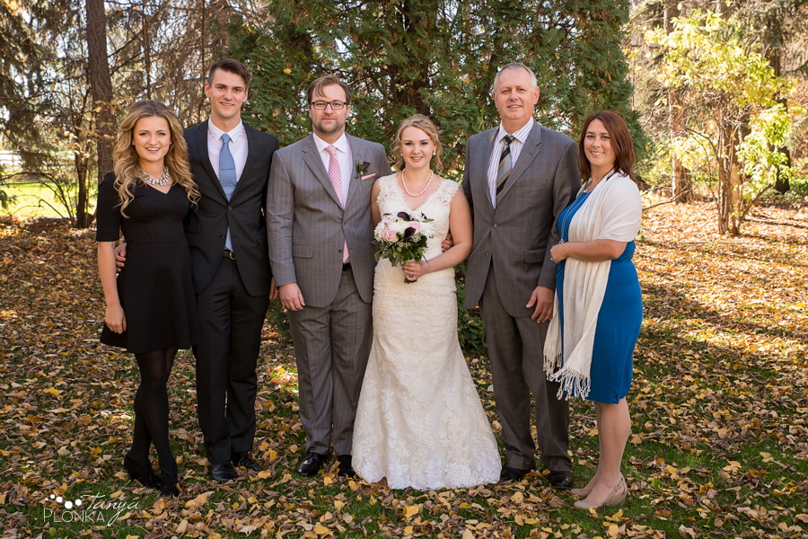 Ashlan & Bryce, Lethbridge autumn wedding photos