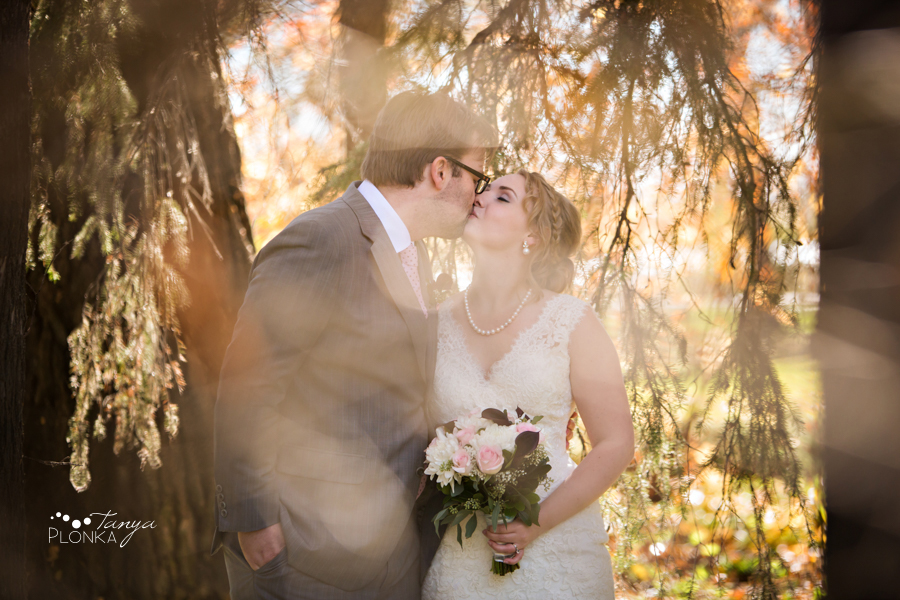 Ashlan & Bryce, Lethbridge autumn wedding photography